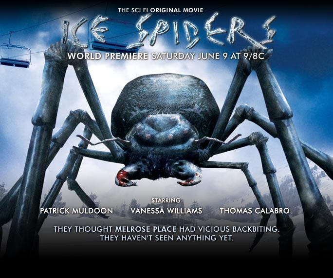 Ice Spiders | The Idiot Box Experts